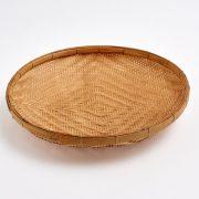 Bamboo Basket Tray 45 cm