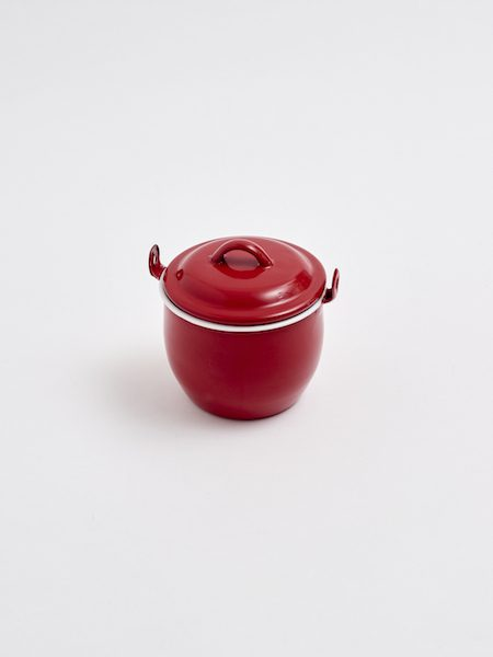 Red Enamel Cocotte