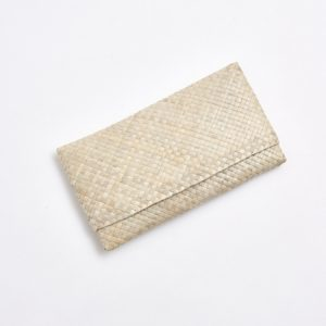 Palm Leaf Clutch