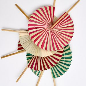 Palm Leaf Fan assorted