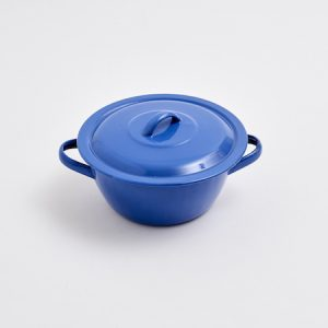 Blue Enameled Casserole