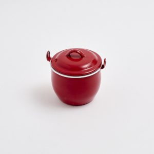 Red Enamel Cocotte