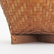 Detail Bamboo Cross Basket
