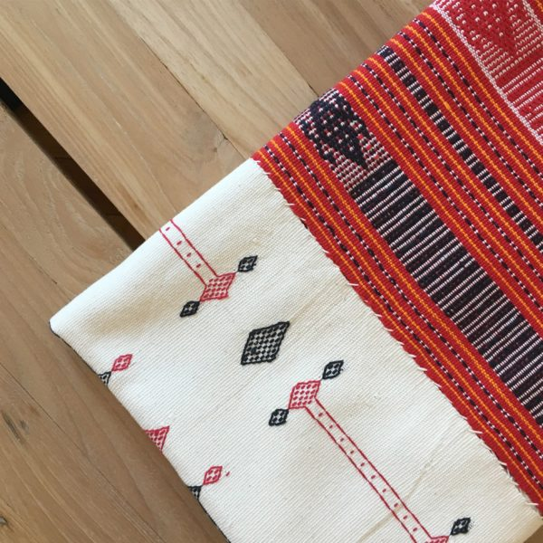 Timor Red and White Textile